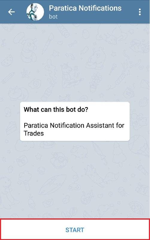 Paratica Telegram Bildirimleri