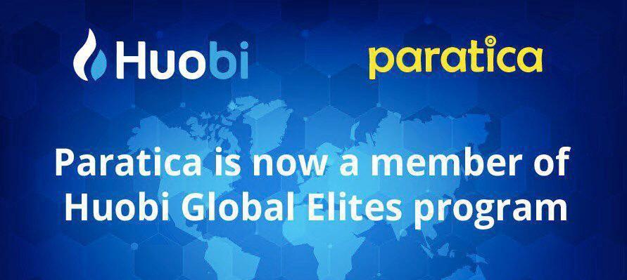 Huobi - Paratica İş Birliği
