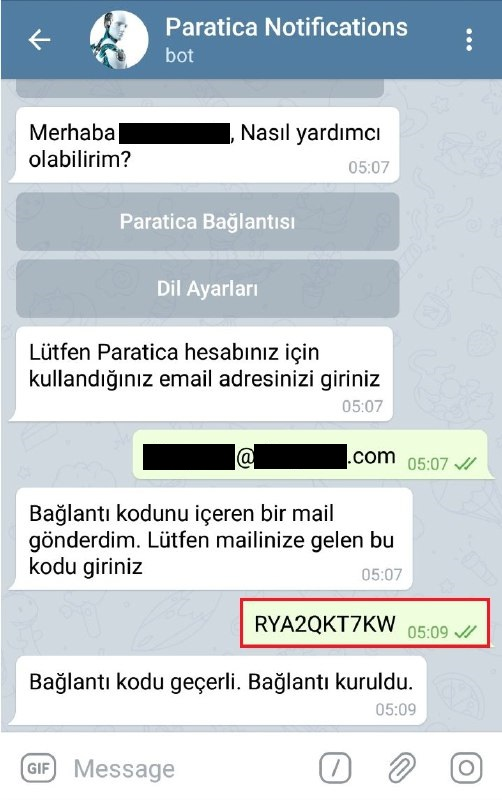 Paratica Telegram Bildirimleri-6