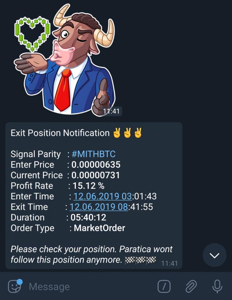 Paratica Telegram Bildirimleri-7