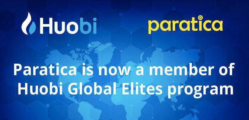 Huobi & Paratica : Partnership for Algorithmic Trade